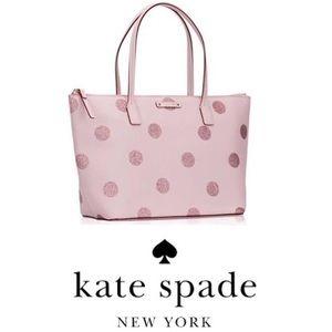 Authentic Kate Spade Hani Haven Lane Polka Dot Bag